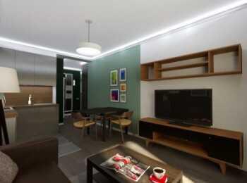 Отделка и меблировка гостиной